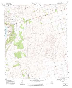 Welch Sw topo map