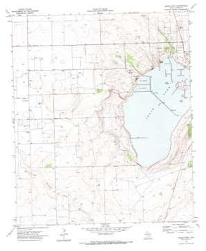 Cedar Point topo map
