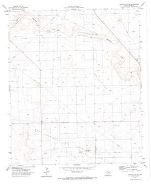 Denver City Se topo map
