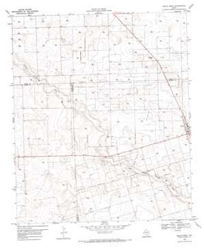 Welch West USGS topographic map 32102h2
