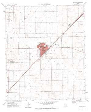 Seagraves USGS topographic map 32102h5