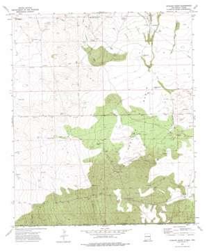 Javelina Basin topo map
