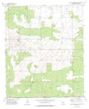 Paduca Breaks East topo map