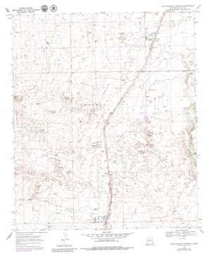 Rattlesnake Canyon topo map