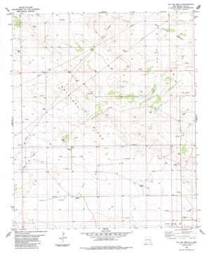 Tip Top Wells topo map