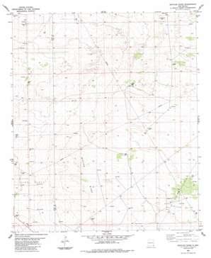 Bootleg Ridge USGS topographic map 32103c6