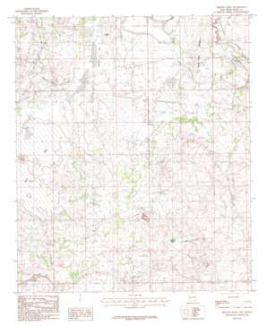 Remuda Basin topo map