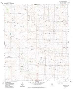 Oil Center topo map