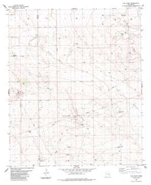 The Divide topo map