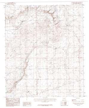 Livingston Ridge topo map