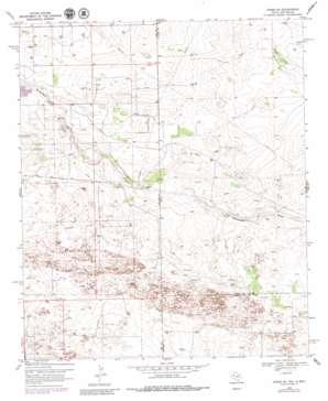 Hobbs Se topo map