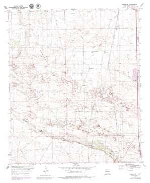 Hobbs Sw topo map