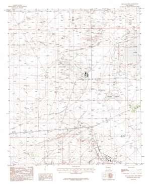 Williams Sink topo map