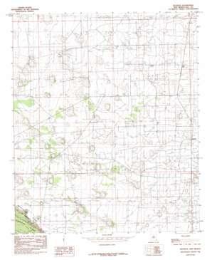 Buckeye topo map