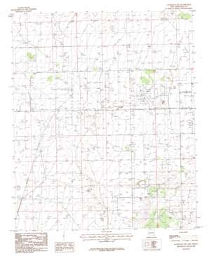 Lovington Nw topo map