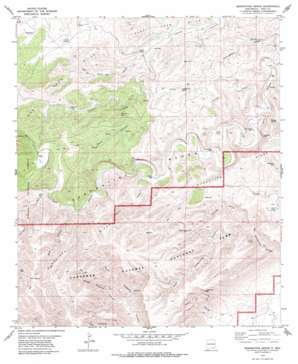 Serpentine Bends USGS topographic map 32104b5