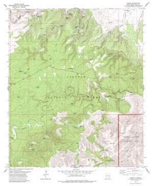 Queen topo map