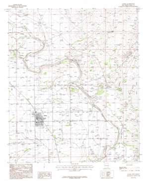 Loving topo map