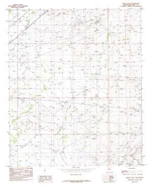 Indian Flats topo map