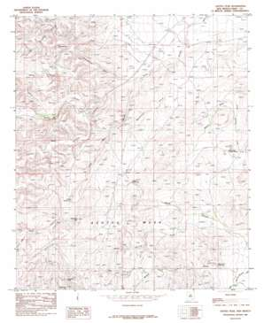Azotea Peak topo map