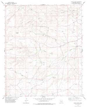 Cawley Draw USGS topographic map 32104d6