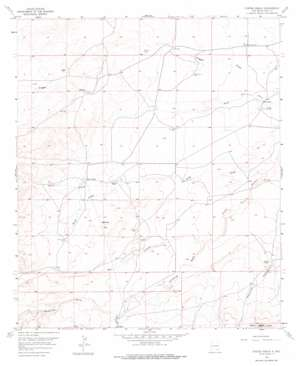 Foster Ranch topo map