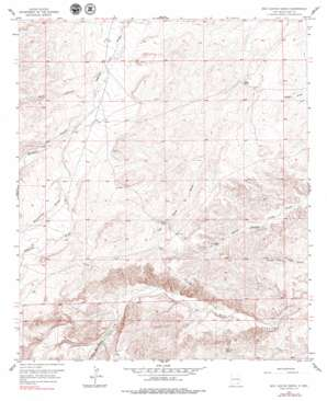 Box Canyon Ranch topo map