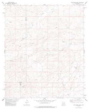 Strychnine Draw USGS topographic map 32104e7