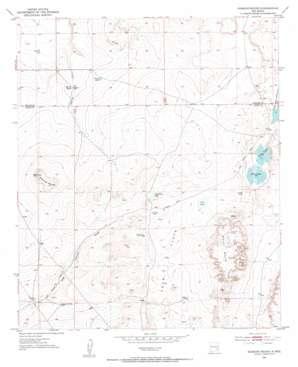 Diamond Mound topo map