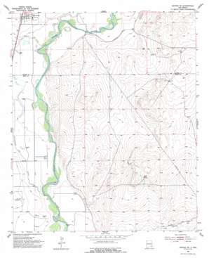 Artesia Ne topo map