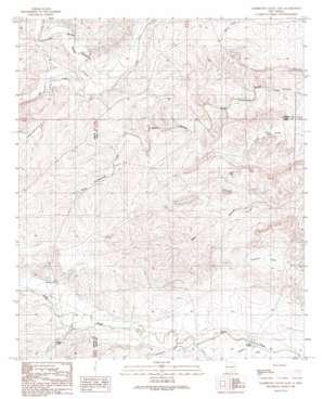 Sagebrush Valley E. topo map