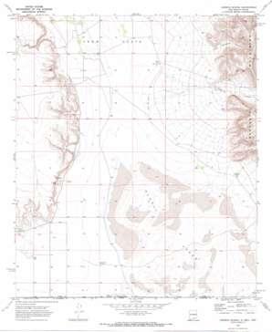 Cienega School topo map