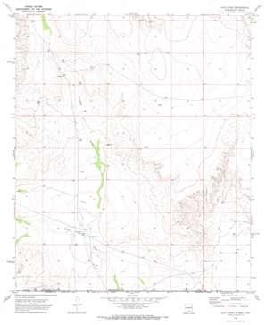Culp Draw topo map