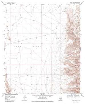 Sheep Draw topo map
