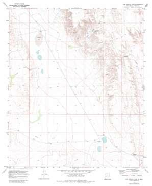 Van Winkle Lake topo map