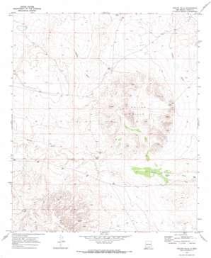 Shiloh Hills topo map