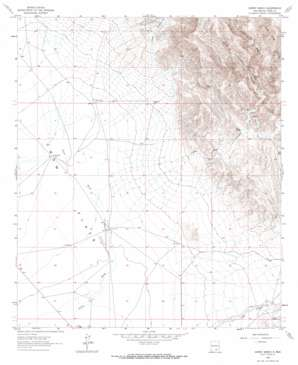Gowdy Ranch topo map