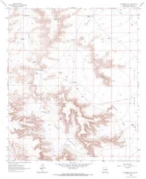 Hackberry Hill USGS topographic map 32105c2