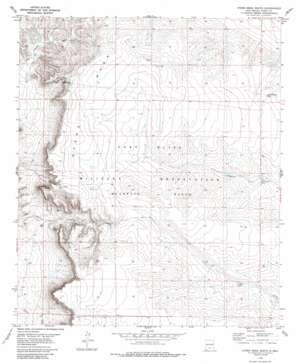 Otero Mesa South topo map