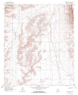 Tanner Ranch topo map