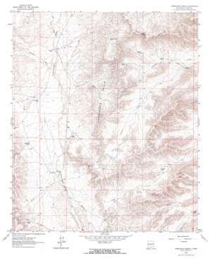 Cornucopia Ranch topo map