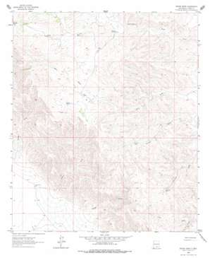 Indian Draw topo map