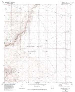 Otero Mesa North topo map