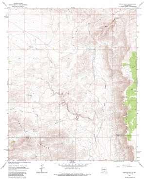 Pinon Ranch topo map