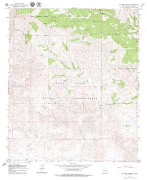El Paso Canyon USGS topographic map 32105e6