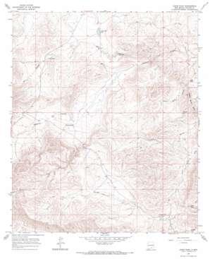 Lewis Peak topo map