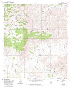 Chimney Lake topo map