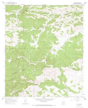 Avis topo map