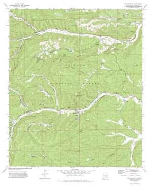 Sacramento topo map