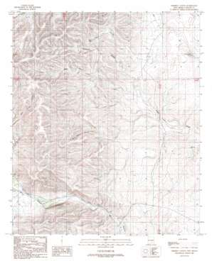 Thimble Canyon topo map